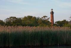 Faro de Currituck en Currituck, Carolina Outer Banks del norte Imágenes de archivo libres de regalías