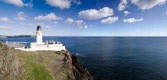 Faro de Douglas en la isla del hombre Fotos de archivo