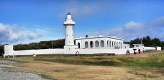 Faro de Eluan pi en Taiwán fotografía de archivo