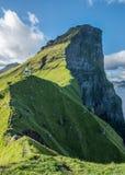 Faro de Faroe Island Kalsoy fotos de archivo libres de regalías
