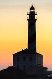 Faro de Fasvaritx Fotografía de archivo