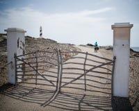 Faro de Favaritx Fotos de archivo