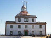 Faro de Fisterre Arkivfoton