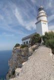 Faro de Formentor Fotos de archivo libres de regalías
