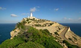 Faro de Formentor Fotografía de archivo libre de regalías