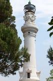 Faro de Gianicolo- Manfredi Lighthouse em Roma, Itália. fotos de stock