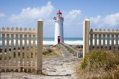 Faro de hadas del puerto, camino de la isla de Griffiths gran océano, Imagen de archivo libre de regalías