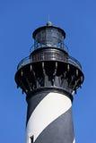 Faro de Hatteras del cabo Fotografía de archivo