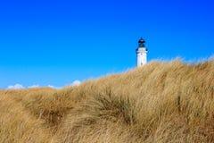 Faro de Hirtshals, Dinamarca Fotografía de archivo libre de regalías