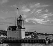 Faro de Holanda, Michigan Imagen de archivo libre de regalías