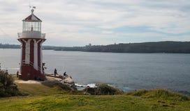 Faro de Hornby imagen de archivo