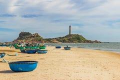 Faro de KE GA, el faro más viejo de Vietnam Imagen de archivo