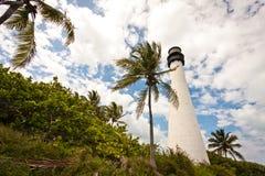 Faro de Key Biscayne Fotos de archivo libres de regalías