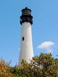 Faro de Key Biscayne Fotografía de archivo libre de regalías