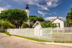 Faro de Key West, llaves de la Florida, la Florida Fotografía de archivo