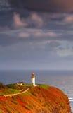Faro de Kilauea imagenes de archivo