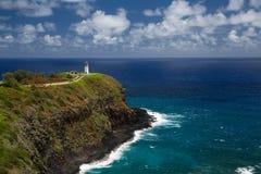 Faro de Kilauea Fotos de archivo