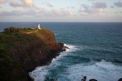 Faro de Kilauea, Kauai Foto de archivo