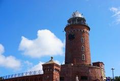 Faro de Kolobrzeg imagenes de archivo
