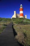Faro de L'Agulhas del cabo (ii) Fotografía de archivo libre de regalías