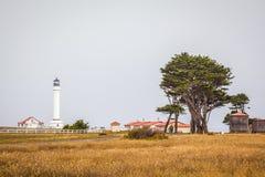 Faro de la arena de Punta Imágenes de archivo libres de regalías