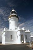Faro de la bahía de Byron Fotografía de archivo libre de regalías