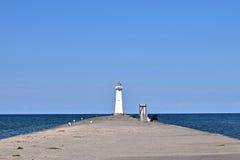 Faro de la bahía del punto de Sodus en Nueva York Fotos de archivo