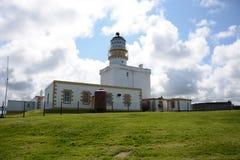 Faro de la cabeza de Kinnaird Imagen de archivo libre de regalías