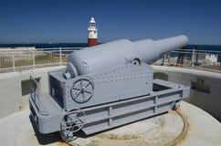 Faro de la casa de la trinidad en Europa del punto de Gibraltar Fotos de archivo libres de regalías