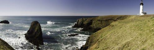 Faro de la Costa del Pacífico Fotografía de archivo