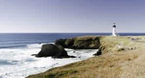 Faro de la Costa del Pacífico Foto de archivo libre de regalías