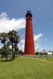 Faro de la entrada de Ponce Fotografía de archivo libre de regalías