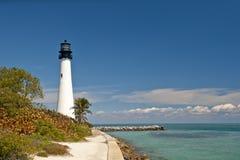 Faro de la Florida del cabo Fotos de archivo libres de regalías
