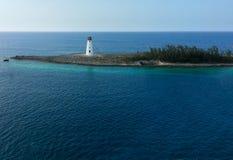 Faro de la isla Fotos de archivo libres de regalías