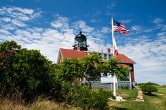 Faro de la isla con la lente de Fresnel más grande Foto de archivo libre de regalías
