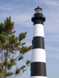 Faro de la isla de Bodie, cabo Hatteras, NC Fotografía de archivo libre de regalías