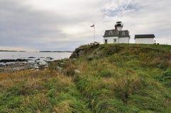 Faro de la isla de Rose Imagenes de archivo
