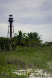 Faro de la isla de Sanibel Foto de archivo