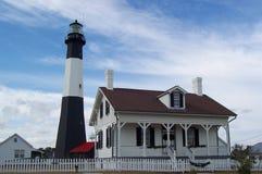 Faro de la isla de Tybee Imágenes de archivo libres de regalías