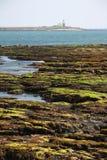 Faro de la isla del croquet foto de archivo libre de regalías