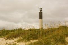 Faro de la isla del roble Imagen de archivo libre de regalías