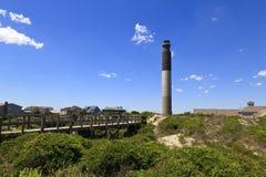 Faro de la isla del roble Fotos de archivo