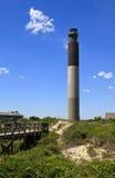 Faro de la isla del roble Imagenes de archivo