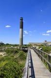 Faro de la isla del roble Fotos de archivo libres de regalías