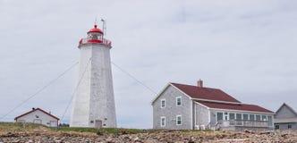 Faro de la isla de Miscou Imagen de archivo