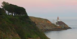 Faro de la península de Howth Fotografía de archivo