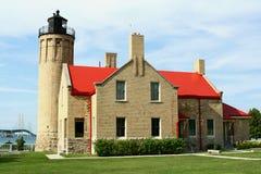 Faro de la punta de Mackinac Fotografía de archivo libre de regalías