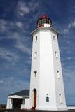 Faro de la punta de peligro Fotografía de archivo libre de regalías