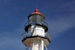 Faro de la punta del pescado blanco Imagen de archivo libre de regalías