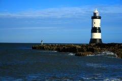 Faro de la punta negra Imagen de archivo